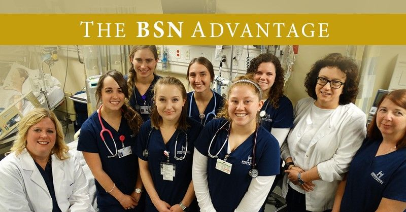 The Advantages of a BSN in the Nursing Profession.